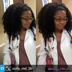 """1,533 Likes, 36 Comments - #naturalhair ❤️ (@myhaircrush) on Instagram: """"Hair Crush!  by @curly_md_2b・・・Back at this clinic life again! First patient didn't show so I…"""""""