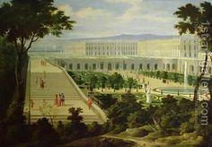 Pierre-Denis Martin 1663-1742, the Orangerie at Versailles palace