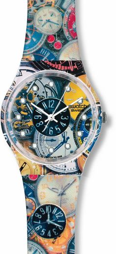 Loved my swatch watch.... even though it had a loud tick