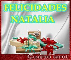 FELICIDADES NATALIA #FelizDomingo #FelizDía #FelicidadesNatalia https://www.cuarzotarot.es/