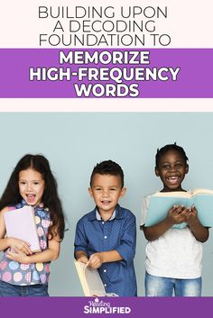 Watch here as a 1st grader builds upon a decoding foundation to memorize high frequency words. In other words, watch to see how decoding is the 1st step to learning sight words! We also discuss 3 activities to use when teaching high-frequency sight words. #readingsimplified #readingdifficulties #elementaryteacher #teachtoread #readingstrategies #sightwords #highfrequencywords