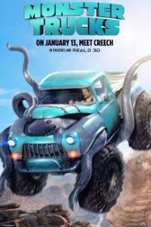 MONSTER TRUCKS - New Poster! [[MORE]]Looking for any way to get away from the life and town he was born into, Tripp (Lucas Till), a high school senior, builds a Monster Truck from bits and pieces of. Lucas Till, Streaming Movies, Hd Movies, Movies To Watch, Movies Online, Hd Streaming, 2017 Movies, Film Watch, Blockbuster Movies