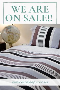 ̷$̷1̷7̷9̷.̷9̷5 $169.95 (SALE) An easy mix of colours to match most décors this Coshee quilt cover set comes with: 1 cotton quilt cover 2 matching pillowcases 1 white clip on top sheet Perfect for that stylish look and no tangled sheets. Also available in Double (180 x 210 cm) and Queen (210 x 210cm) Bed Linen, Linen Bedding, Bedding Sets, King Single Bed, Bedroom Ideas, Bedroom Decor, Simple Bed, Quilt Cover Sets, How To Make Bed