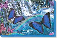 Leanin Tree Greeting Note Cards Thank you Card 8 pack Set Assortment USA made