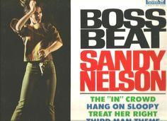 Sandy Nelson LP Boss Beat (Imperial LP-9298) #RootsRock