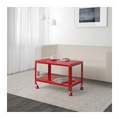 IKEA - IKEA PS 2012, Stolik, , Na kółkach - ułatwione przesuwanie.Oddzielna półka na czasopisma itp. pomaga utrzymać porządek i zwalnia miejsce na stole.