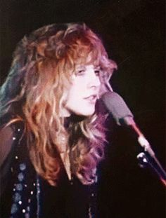 Stevie Nicks - 'She rules her life  like a fine starlight and then she is the darkness.  Once in a Million yeas a Lady like her Rises...Taken by, taken by the Sky...'
