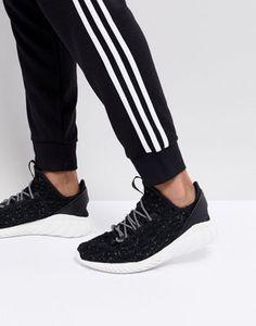 801dcedad adidas Originals Tubular Doom Sock Primeknit Trainers In Black CQ0940 Cross  Training