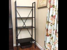 Langria Bookshelf || Modern, Sleek, Contemporary, Traditional This Shelf Offers It All - YouTube