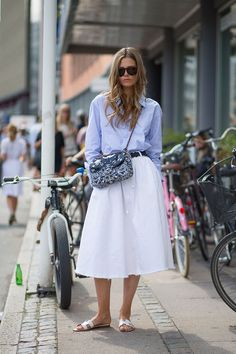 Scandinavian Standard: Copenhagen Fashion Week Spring 2015 Street Style Next summer!