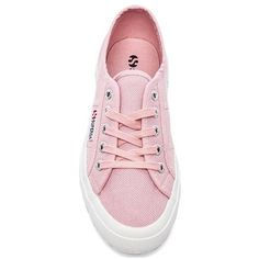 d19729427176e Superga Cotu Classic Sneakers ( 38) ❤ liked on Polyvore featuring shoes,  sneakers, pink, superga sneakers, laced sneakers, pink shoes, pink sneakers  and ...