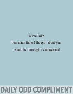 daily odd compliment   Tumblr