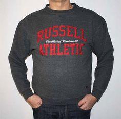 Vtg RUSSELL Athletic Sweatshirt/Unisex Grey Rare by VintageDeMar