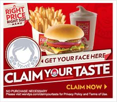 Win A $50 Wendy's Gift Card