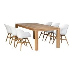 Exotan Stella & Tulip Tuinset 220 x 100 cm Tulips, Dining Table, Furniture, Home Decor, Products, Kochen, Dining Room Table, Decoration Home, Room Decor
