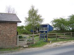 The former Marishes Road station on the York to Pickering line, North Yorkshire.