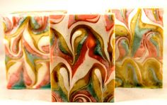 Autumn Apple Soap with Shea & Mango Butter Handcrafted Vegan Natural Spa Cold Process. $5.50, via Etsy.