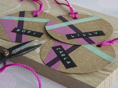Bordkort i papp Washer Necklace, Party, Diy, Gifts, Jewelry, Card Ideas, Presents, Jewlery, Bricolage