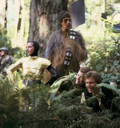 BTS of Return of the Jedi
