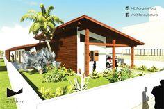 1|2 CASA CB - Estudo de residência unifamiliar na praia de Campo Bom, Jaguaruna - SC