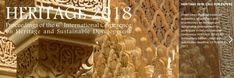 Conferencia Internacional sobre Patrimonio y Desarrollo Sostenible. Congreso Heritage 2018 en Granada.