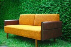 Multifunktionales Sofa, Schlafsofa, Ende 60er von Kultur-im-Heim
