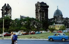 Ruins of the Frauenkirche, Dresden DDR on lovely ORWO Colour August 1988. | by sludgegulper