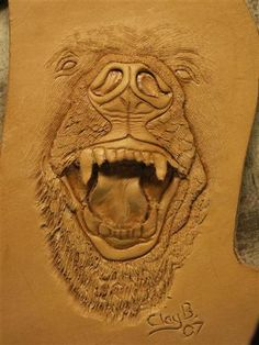 leather art | Free figure carving tutorials from Clay Banyai are offered on the ...
