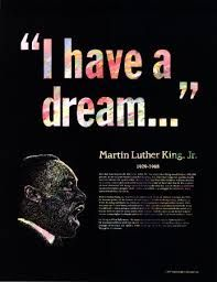 i have a dream, that one day...