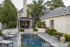 Douglas Hoerr designed garden via Traditional Home 7