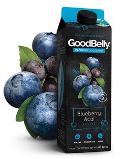 Blueberry Acai #Goodbelly #Probiotics