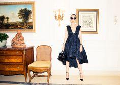 She's a class act. http://www.thecoveteur.com/lucie-de-la-falaise/