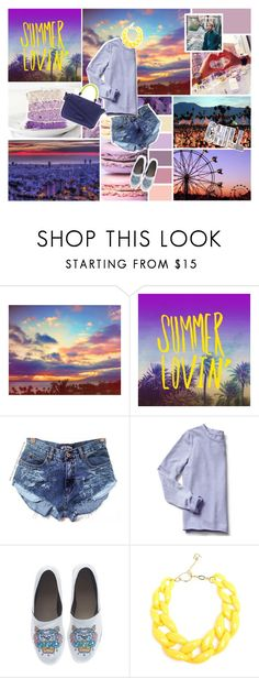 Designer Clothes, Shoes & Bags for Women Some Girls, Kenzo, Marc Jacobs, Diana, Gap, Summer Outfits, Glitter, Polyvore, Stuff To Buy
