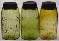 Old Mason jars