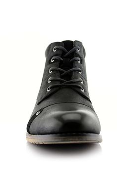 huge discount d9548 ec1c8 Ferro Aldo Colin Men s Stylish Mid Top Boots for Work Or Casual Wear