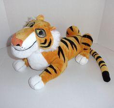 "Disney Store Exclusive 14"" SHERE KHAN Plush Tiger Jungle Book Villain  #Disney"