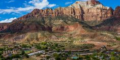 Springdale Was Just Named One Of The Most Charming Towns In The U.S., And We Couldn't Agree More Zion Utah, Zion Park, Zion National Park, National Parks, Desert Pearl Inn, Springdale Utah, Local Painters, Utah Vacation, Adventure Activities