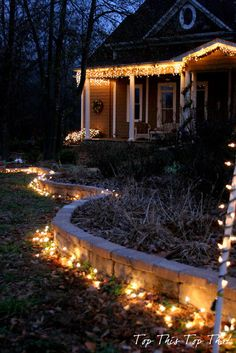 Top This Top That: Outdoor Holiday Lighting Ideas