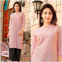 Checkout this latest Kurtis Product Name: *Women's Solid Cotton Cambric Kurti* Fabric: Cotton Cambric Sleeve Length: Three-Quarter Sleeves Pattern: Solid Combo of: Single Sizes: XL, XXL Country of Origin: India Easy Returns Available In Case Of Any Issue   Catalog Rating: ★4 (310)  Catalog Name: Women Cotton Cambric Straight Solid Mustard Kurti CatalogID_2219414 C74-SC1001 Code: 152-11730519-255