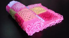 Crochet Baby Blanket/ Afghan Crochet Granny by HandicraftsbyOlga