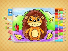 This coloring book provides beautiful pictures for toddlers and preschoolers to paint, draw and color. Educational App on iphone, ipad and android. Kids Fun, Cool Kids, Color Games, Best Apps, Toddler Preschool, Coloring Books, Toddlers, Beautiful Pictures, Ipad