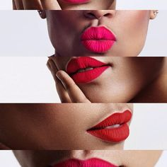 «Color-FIRE RED-HOT PINK- MATTE EXTEME-LIPSTICK Frost Cosmetics has 3 DIFFERENT matte formula's:  Matte Gloss Lipstick Matte Dry Lipstick Matte Extreme Dry…»