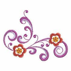 Swirl Embroidery Designs | 866−451−3900