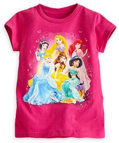 Disney Princess Tee for Girls on shopstyle.com