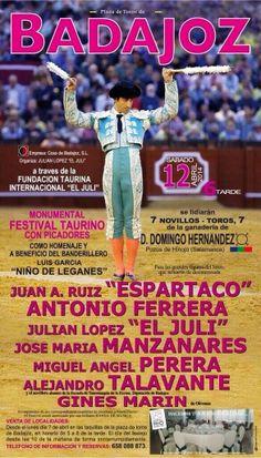 Diário Taurino: Este Sábado...Badajoz!
