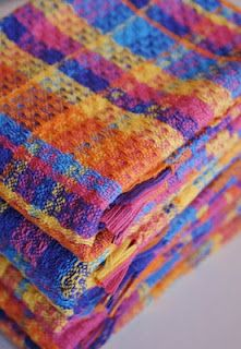 .Nice colorful towels
