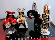 tlingit doll | hand made dolls by anna beaver photo by donna beaver pizzarelli