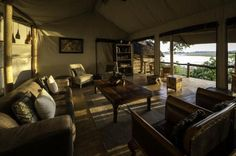 Tubu Tree Camp offers a traditional tented camp feel with large walk in tents raised on wooden platforms overlooking the stunning views and wildlife. Tree Camping, Okavango Delta, Game Reserve, Lounge Areas, Stunning View, Tent, Traditional, Country, Places