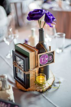 Check out this awesome wine themed wedding!: