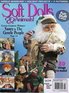 Free Doll Patterns - Free Copy Soft Dolls and Animals January 2003